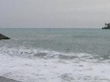 Зимнее плавание в черном море.Ялта.Шторм. 16 января 2014. Sergey Novikov